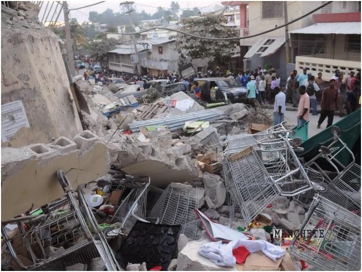 Foto de Haiti: Situação de calamidade