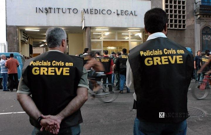 policia civil greve Policiais também poderão entrar em greve