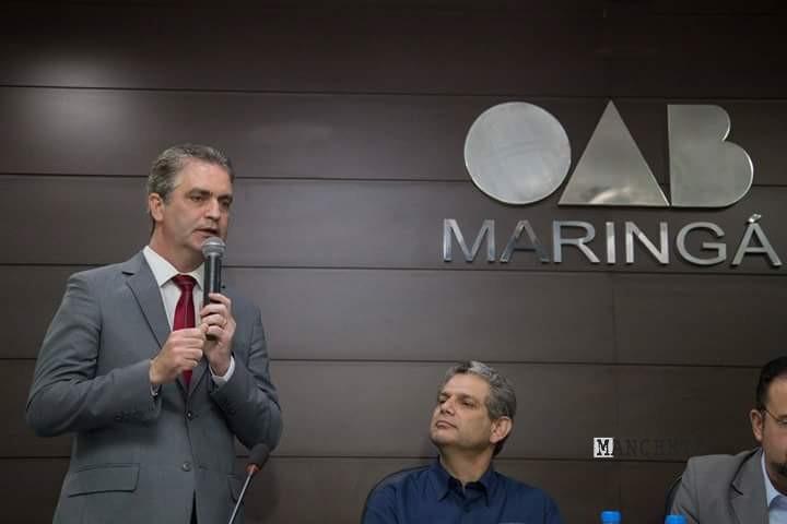 Foto de Em Maringá 2º turno. Câmara só três voltam
