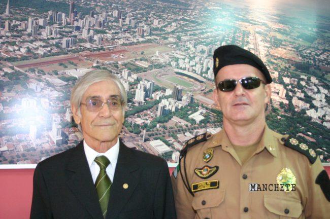 coronel apparicio e cartens e1480553075517 Morre Coronel Aparicio