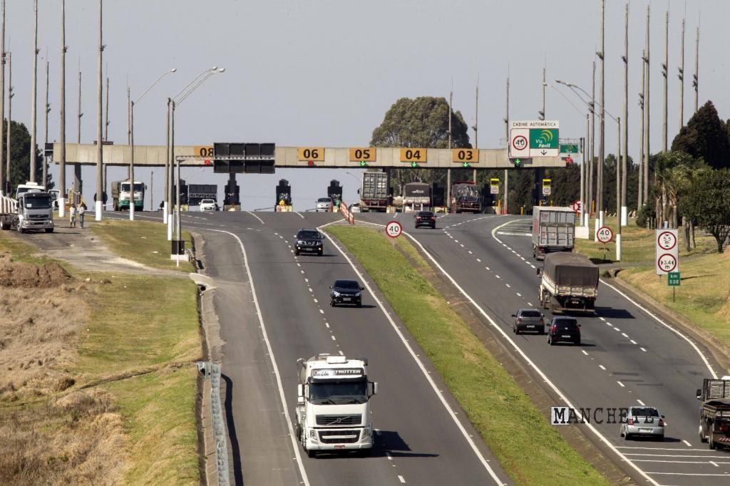 Foto de Pedágio fica até 13% mais caro no Paraná a partir de hoje