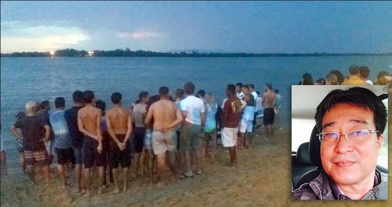 Foto de Bombeiros retomam busca por maringaense que pilotava lancha que afundou