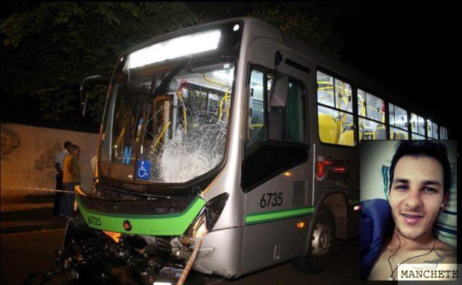 Foto de Motociclista morre após cruzar preferencial de ônibus em Maringá