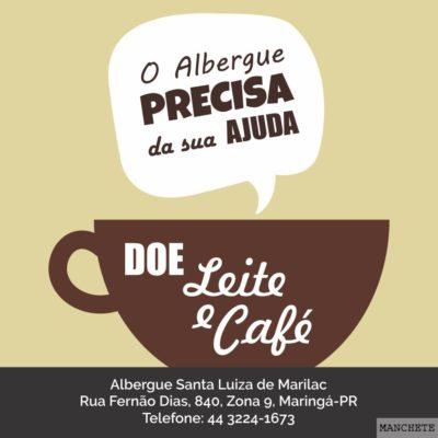 albergue e1500302949463 Albergue Santa Luíza de Marillac faz campanha para arrecadar leite e café