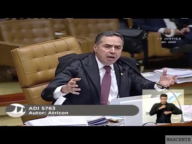 Foto de Discussão entre os Ministros do STF