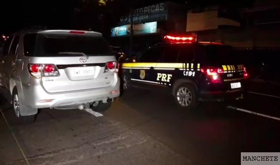 Foto de Mulher após sair de bar em Maringá é atropelada