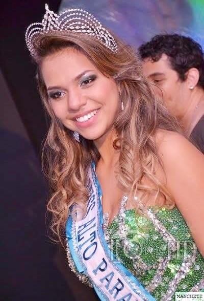 karina vasconcelos Ex-Miss Alto Paraná hoje é professora e árbitra de handebol