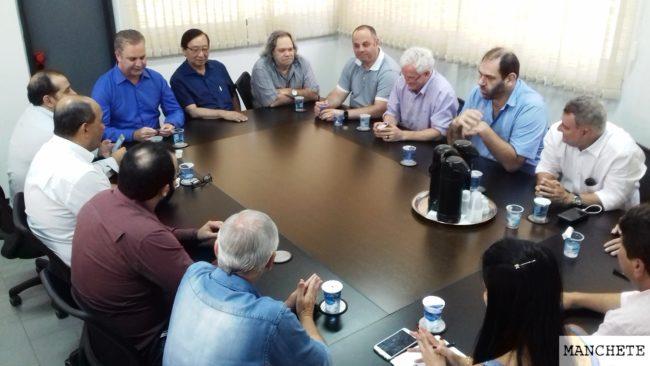 prefeito vereadores 1 e1516753152871 Vereadores e prefeito discutem suas expectativas para 2018