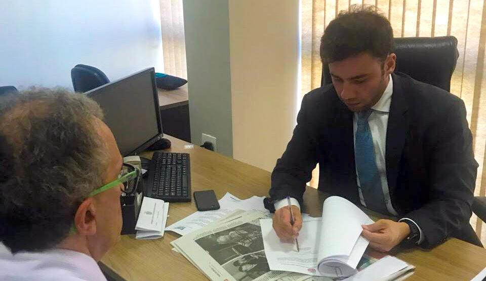 Evandro Evandro Junior propõe política de mobilidade para bicicletas