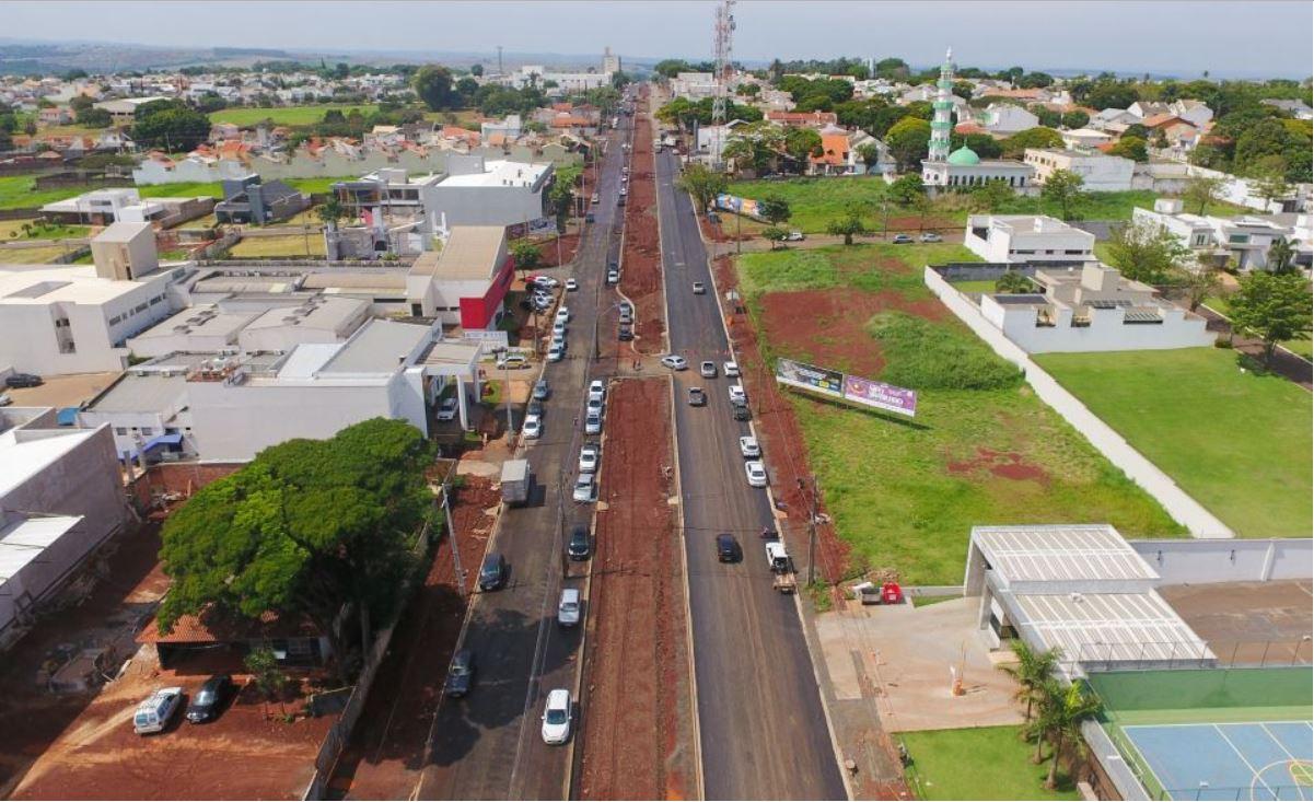 Foto de Maringá investe R$ 163 milhões em 70 obras em andamento