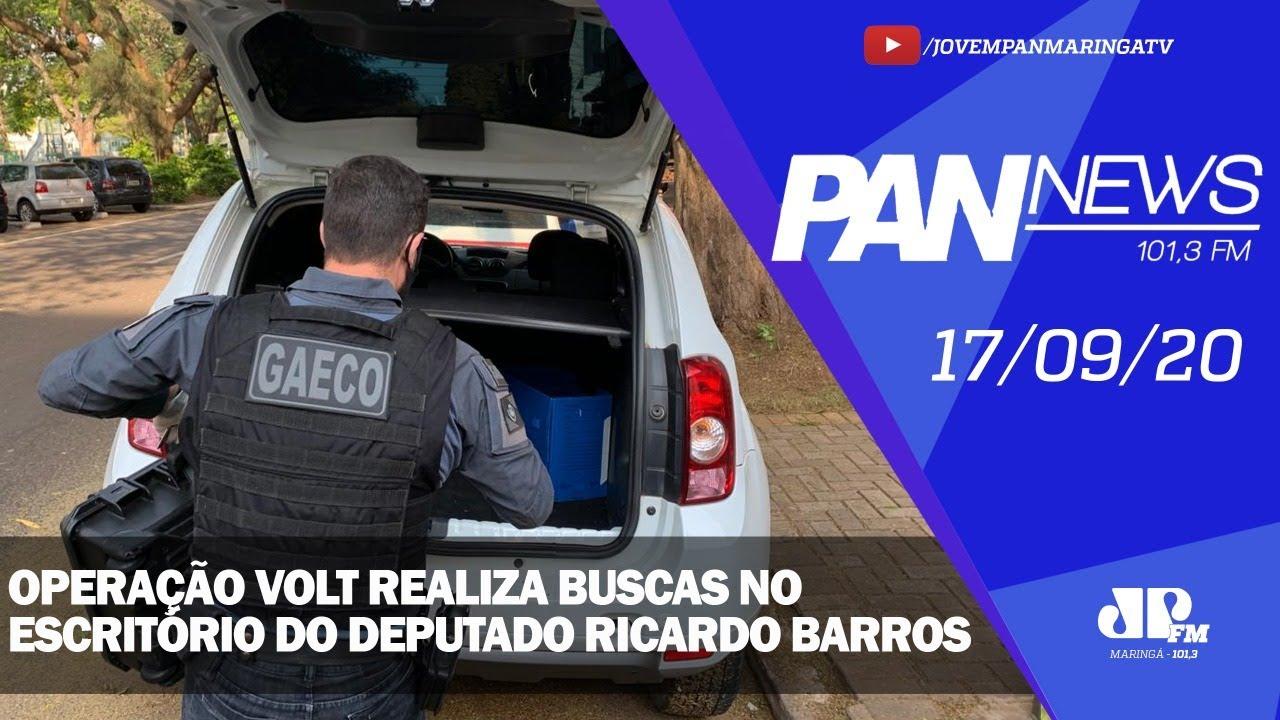 """Foto de Operação """"Volt"""" realiza buscas no escritório do deputado Ricardo Barros"""