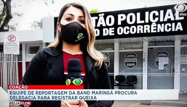 Foto de Profissionais de TV registram queixa contra seguranças de sindicato